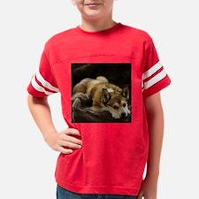 lundehund_pillow Youth Football Shirt