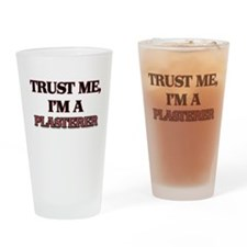 Trust Me, I'm a Plasterer Drinking Glass