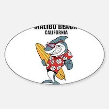 Malibu Beach, California Decal