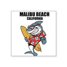 Malibu Beach, California Sticker