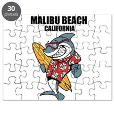 Malibu Beach, California Puzzle
