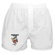 Malibu Beach, California Boxer Shorts