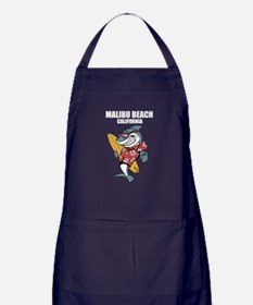 Malibu Beach, California Apron (dark)