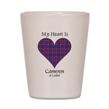 Heart - Cameron of Locheil Shot Glass