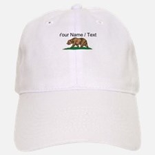 Custom California Bear Baseball Baseball Cap