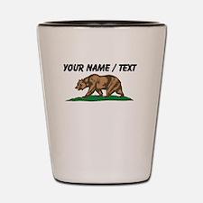 Custom California Bear Shot Glass