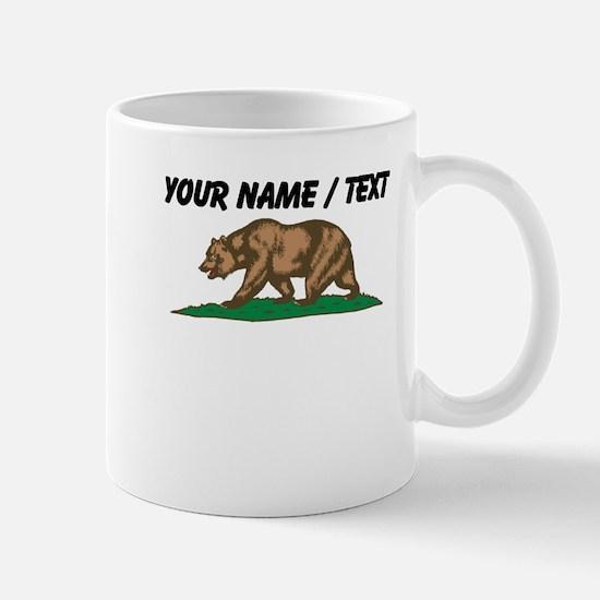 Custom California Bear Mugs