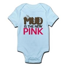 Mud Is The New Pink Infant Bodysuit