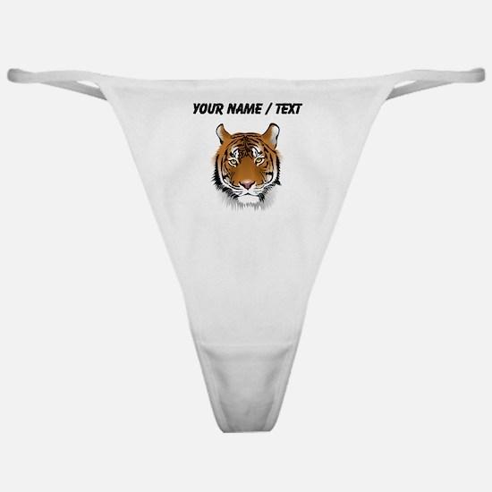 Custom Bengal Tiger Classic Thong