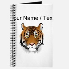 Custom Bengal Tiger Journal