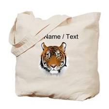 Custom Bengal Tiger Tote Bag