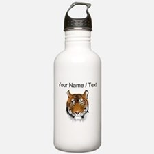 Custom Bengal Tiger Sports Water Bottle