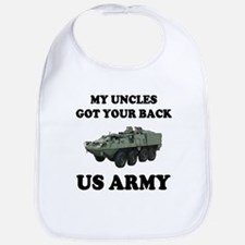 My Uncles Got Your Back ARMY Bib