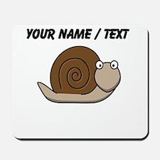 Custom Cartoon Snail Mousepad