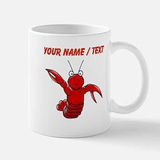 Custom Cartoon Lobster Mugs