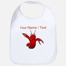 Custom Cartoon Lobster Bib