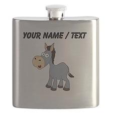Custom Cartoon Donkey Flask