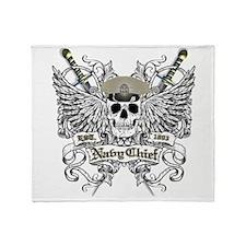 Chief wingskull Throw Blanket