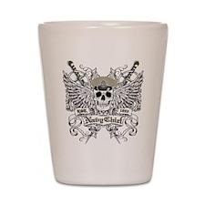 Chief wingskull Shot Glass