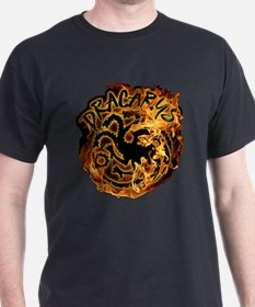 GOT Dracarys Flames T-Shirt