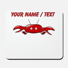 Custom Cartoon Crab Mousepad
