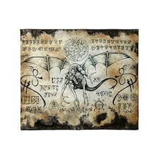 Dragon Runes Throw Blanket