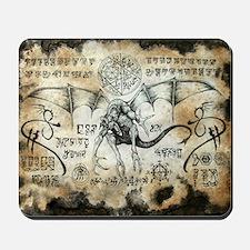 Dragon Runes Mousepad
