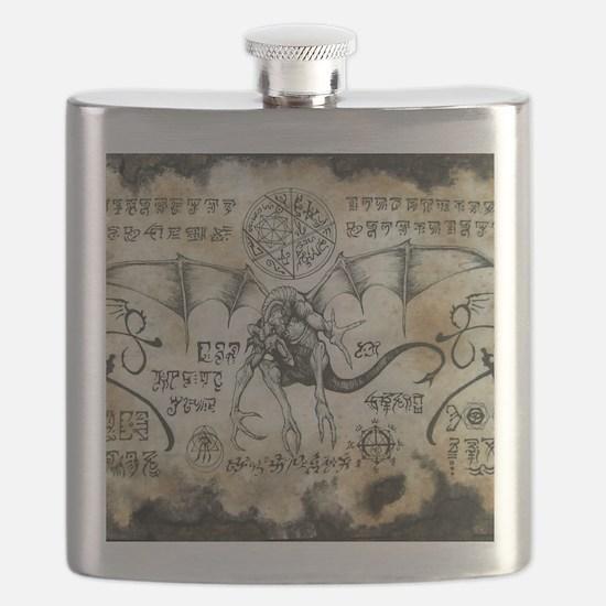 Dragon Runes Flask