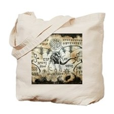 Dragon Runes Tote Bag