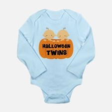 Halloween Twins Long Sleeve Infant Bodysuit