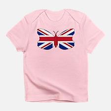 Union Jack Butterfly Infant T-Shirt