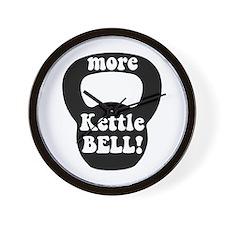 More Kettlebell Wall Clock