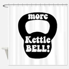 More Kettlebell Shower Curtain