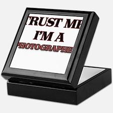 Trust Me, I'm a Photographer Keepsake Box