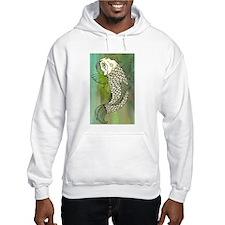 Green Koi Fish Hoodie