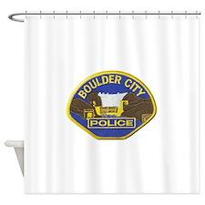 Boulder Cfity Police Shower Curtain