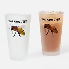 Custom Bee Drinking Glass