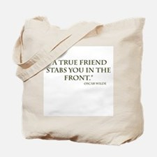 Oscar Wilde Quote1 Tote Bag