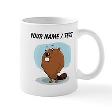 Custom Beaver Cartoon Mugs