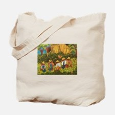 Corn Shucking Tote Bag