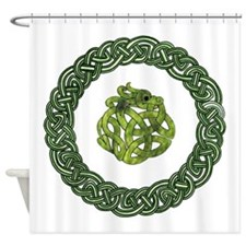 Celtic Dragon 2 Shower Curtain