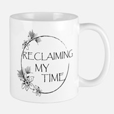Reclaiming My Time Floral Mugs