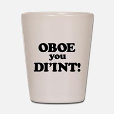 OBOE Shot Glass