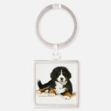 Bernese Mountain Dog Bright Eyes Keychains