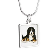 Bernese Mountain Dog Bright Eyes Necklaces