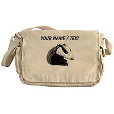 Custom Badger Messenger Bag