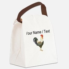 Custom Rooster Canvas Lunch Bag