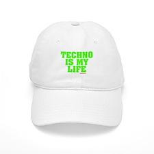 Techno Is My Life Baseball Baseball Cap