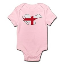 English Airplane Infant Bodysuit