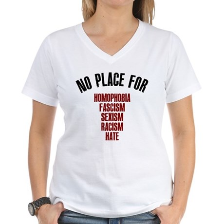 No place for Women's V-Neck T-Shirt